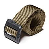 CQR CQ-MZT01-KHK_S(w28-30) Tactical Belt 100% Full Refund Assurance Nylon Webbing EDC Duty 1.5