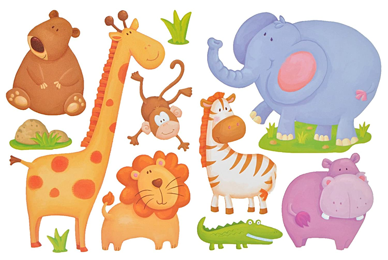 Kinderzimmer Zootiere – Quartrucom