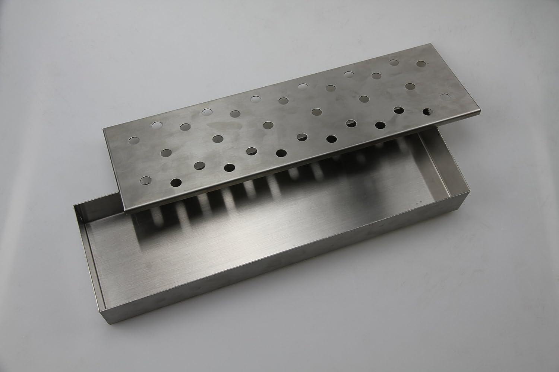 Man Law MAN-H4 4.2 x 14 x 1.6 Edelstahl Smoker Box kaufen