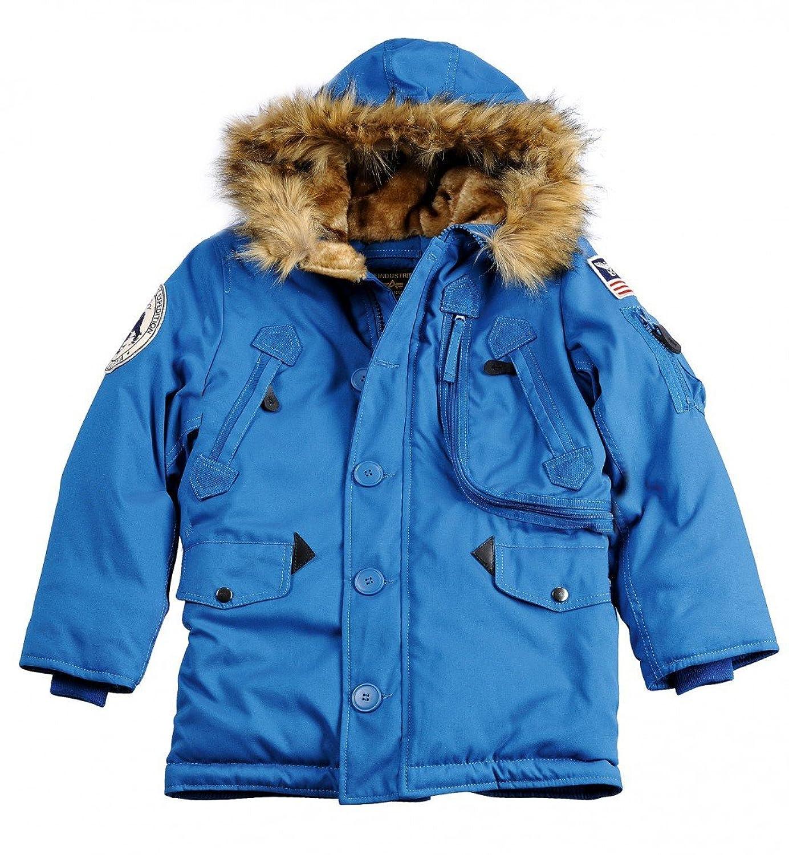 Alpha Industries Polar Jacket Kids 133703 Kinder Winterjacke schwarz Gr.92-164 online kaufen