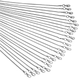 Snake Chains Necklace 24pcs 925 Silver Plated 1.2mm DIY Charms Link with Lobster Clasps for Jewelry Making (16 inch) (Color: Silver, Tamaño: 16 inch)