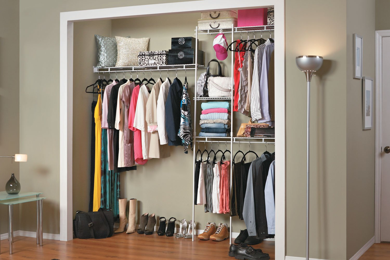 Closetmaid 1628 5ft To 8 Ft Closet Organizer Kit New