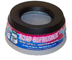 Road Refresher No Spill Portable Pet Bowl