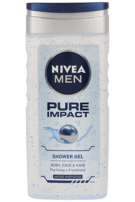 buy nivea pure impact shower gel for men 250ml online at low prices in india amazonin