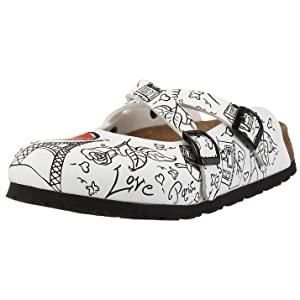 Birki Dorian 536253, Chaussures femme - Blanc - V.2, 40 EU   passe en revue plus d'informations