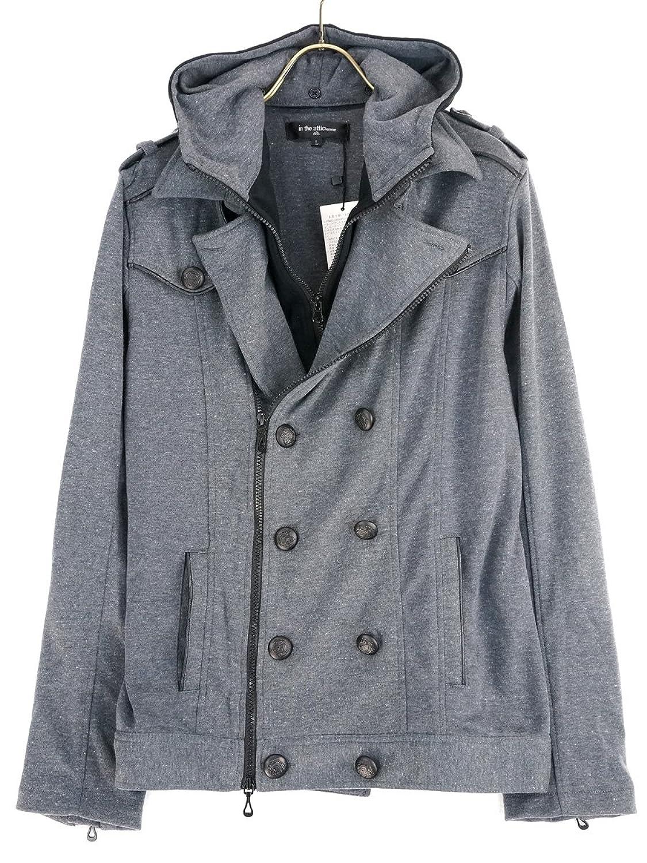 Amazon.co.jp: ピーコート ジャケット ショート丈 メンズ G260730-06: 服&ファッション小物通販