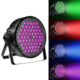 Eyourlife LED Stage Lights 60X1.5 W RGB DMX512 Controlled Sound Activated Stage Lighting for Dj Party Disco Wedding Church Stage Party Lights (Color: 60X1.5 W RGB LED Stage Lights, Tamaño: 60X1.5 W RGB LED Stage Lights)