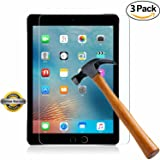 iPad Mini 4 Screen Protector, SOOYO(TM) Premium Tempered Glass Screen Protector (2.5D Round Edge/99% Clarity/Shatter-Proof/Bubble Free) for Apple iPad Mini 4 (7.9 inch])-[3Pack] (Color: Mini4-3Pack)