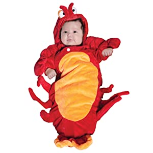 Baby lobster costume my baby costumes bunting infant lobster costume solutioingenieria