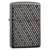 Zippo Hexagon Design Pocket Lighter (Color: Black Ice Hexagon, Tamaño: One Size)