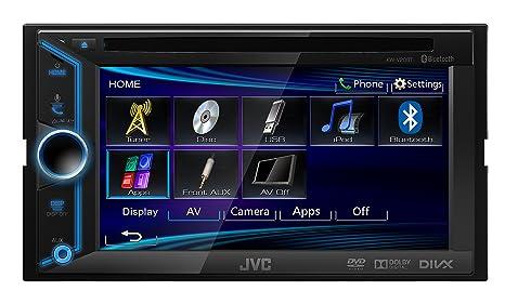 JVC KW-V20BT Vidéo Embarquée Fixe, 16:9 Bluetooth