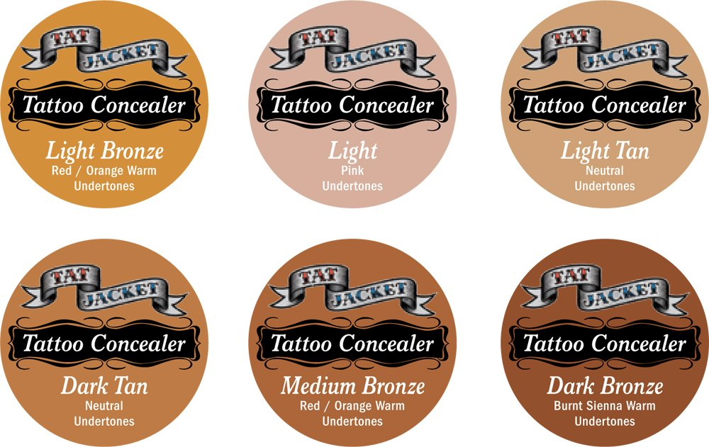 TatJacket Tattoo Concealer