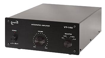 Dynavox VT-100 Amplificateur intégré Noir (Import Allemagne)