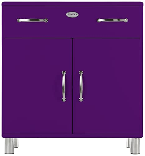 Tenzo 5127-040 Malibu - Designer Kommode 92 x 86 x 41 cm, MDF lackiert, violett