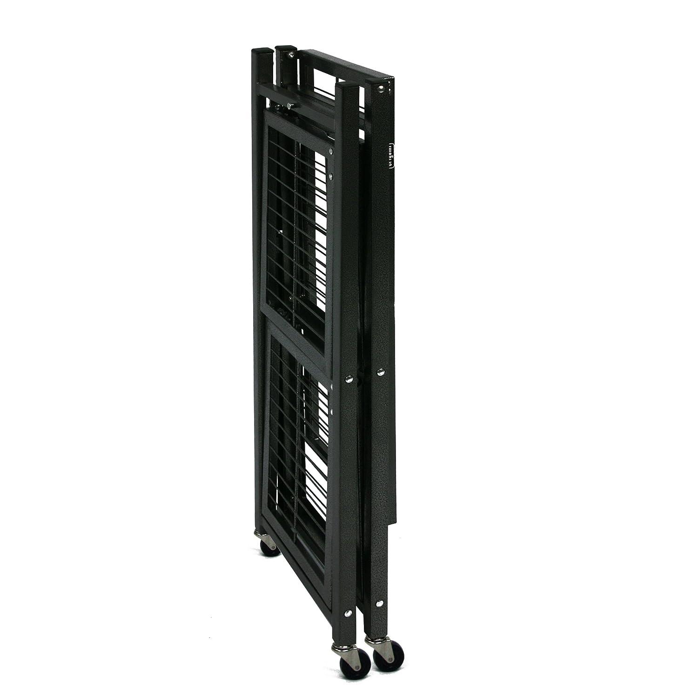 Storage Rack Folding Shelves W/ Wheels Heavy Duty Shelf ... - photo#13