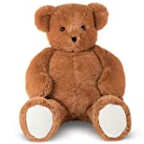 Vermont Teddy Bear Big Teddy Bear - Jumbo Stuffed Animals, 4 Foot, Brown, Cuddle (Color: Brown Bear)