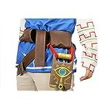 PU Belt Resin Slate Cosplay Props Accessories Costume Mens Halloween Pluscraft (Color: A Belt+sheikah Slate, Tamaño: One Size)