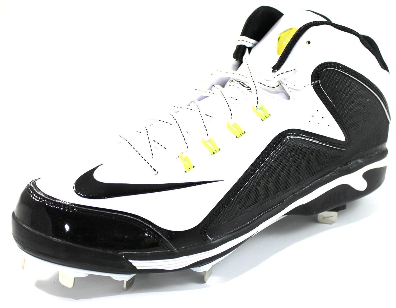 Nike Men's Swingman MVP 2 MD Metal Stud Black Baseball Cleats (11)