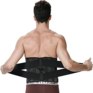 NEOTech Care<sup>™</sup> Adjustable Deluxe Double Pull Lumbar Brace width=