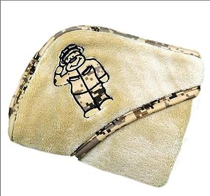 Usmc Teddy Bear Plush Teddy Bear Blanket