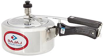 Bajaj Majesty Pressure Cooker, 2 Litres, Sliver