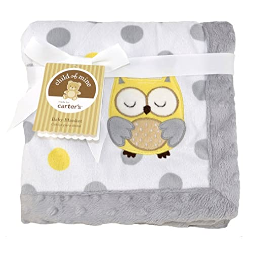 Child of Mine Treetop Friends Owl Baby Valboa Blanket - 30 x 40