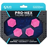 Sliq Gaming PS4 Pro-Hex Thumb Stick Grips - PlayStation 4 - Pink (Color: Pink)