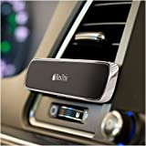 Bestrix Magnetic Phone Holder for Car Air Vent, Super Strong Magnet, Elegant & Luxury Design Compatible with All Smartphones & Mini Tablets (Color: Metal)