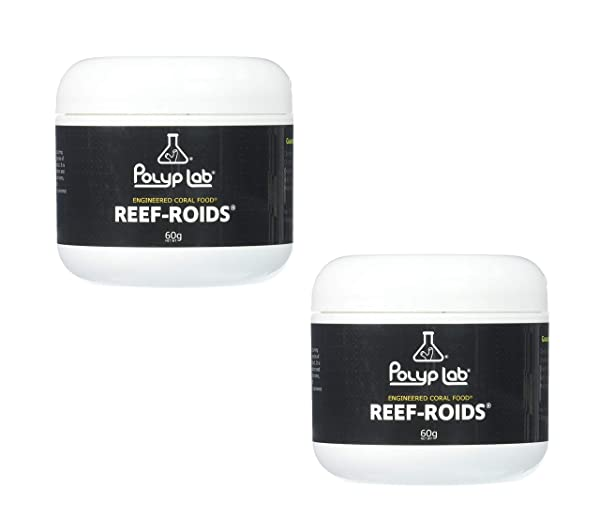 Polyplab - Reef-Roids- Coral Food for Faster Growing - 60g (2 Pack) (Tamaño: 2 Pack)