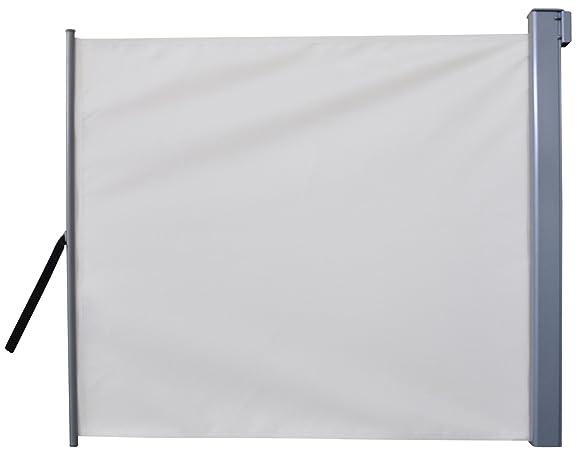 Leco 24500103 - Armadio per il balcone/giardino in alluminio e poliestere, 200 x 120 cm, colore: Beige
