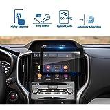 2019 Subaru Ascent Starlink 8-Inch Car Navigation Screen Protector, LFOTPP [9H] Tempered Glass Infotainment Center Touch Display Screen Protector Anti Scratch High Clarity (Color: 2019 Subaru Ascent 8-Inch)