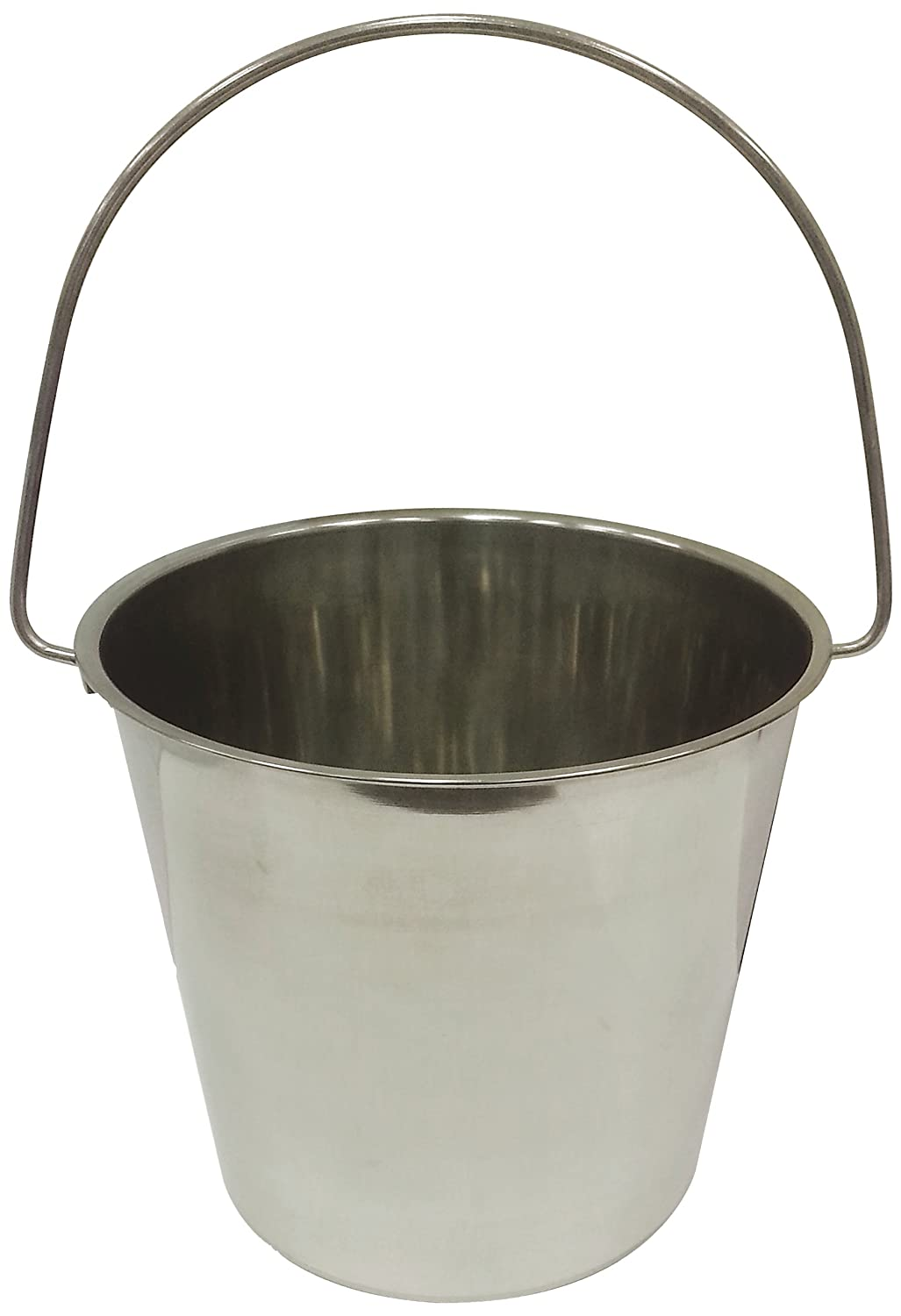Stainless Steel Pail with Handle mini stainless steel handle cuticle fork silver