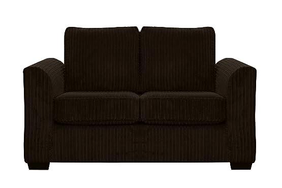 Oxford tessuto divano a posti Jumbo codice tessuto cioccolato
