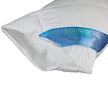 schlafmond medicus clean 50101 kopfkissen 40x80 cm kissen kochfest waschbar 95 db811. Black Bedroom Furniture Sets. Home Design Ideas
