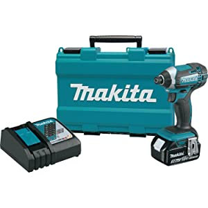 Makita XDT111 3.0 Ah 18V LXT Lithium-Ion Cordless Impact Driver Kit via Amazon