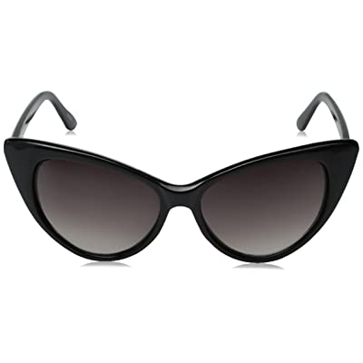 zeroUV Super Cateyes Vintage Inspired Fashion Mod Chic High Pointed Cat Eye Sunglasses