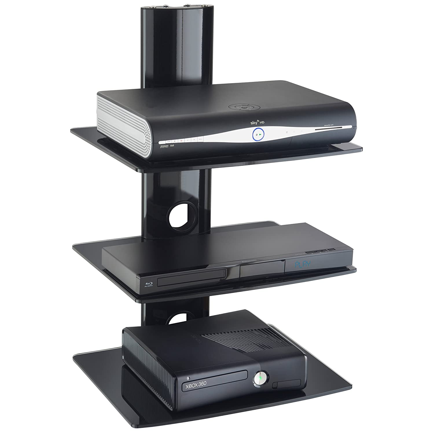 Etagere murale hifi for Meuble tv xbox one