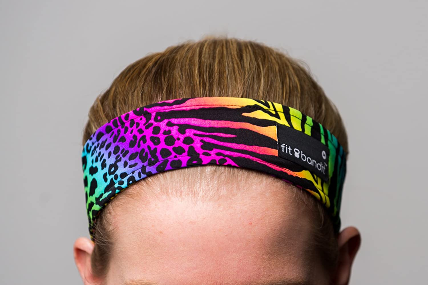 цена на Fit Bandit, No Slip Headband, Multi Color, Animal Magnetism *Patent Pending, Made in the USA