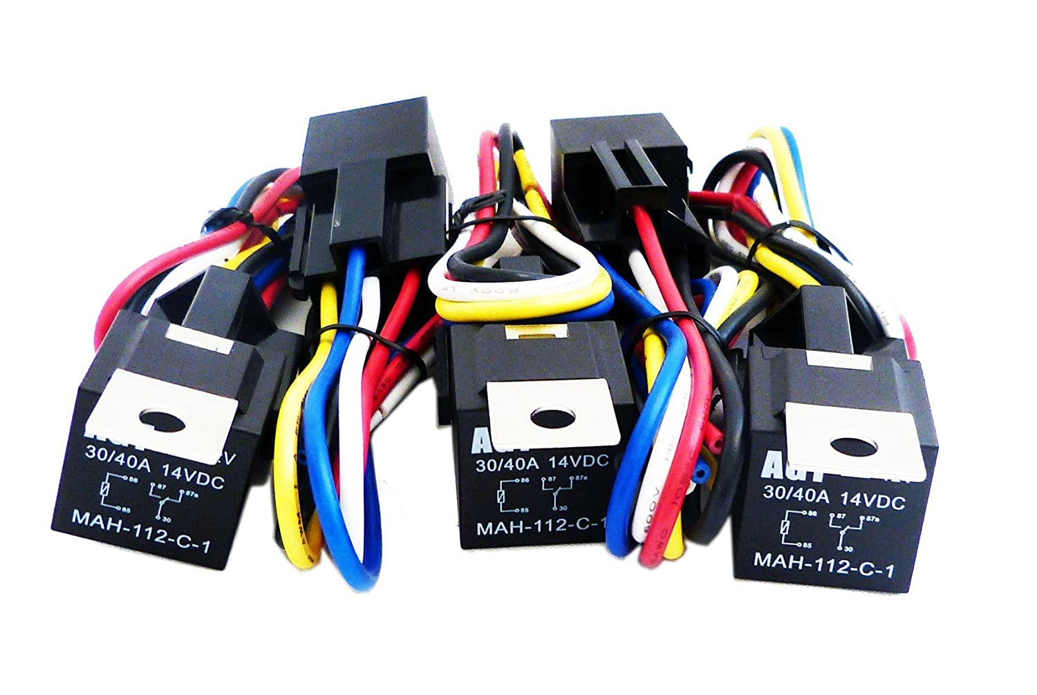 Wiring accessories with a relay page polaris rzr