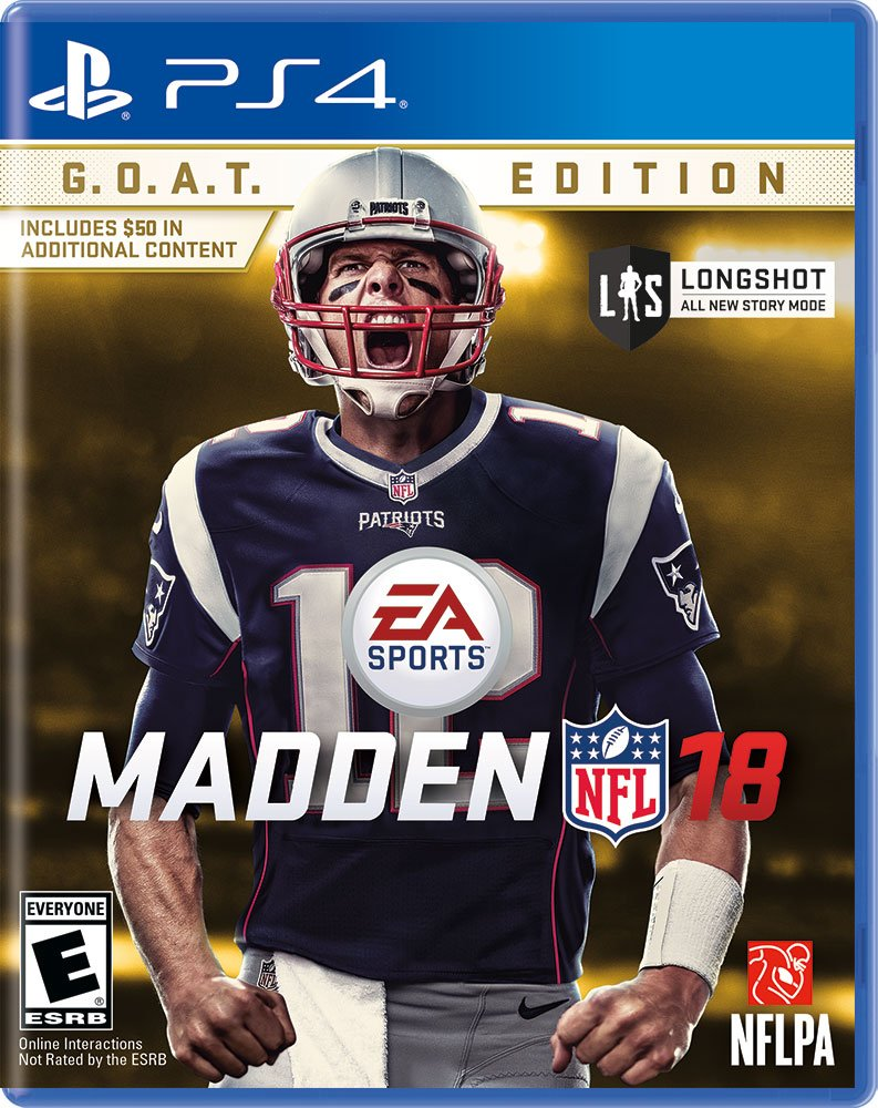 Goat Edition Madden NFL 18