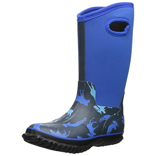 Hatley Little Boys All-Weather Boots Blue Moose