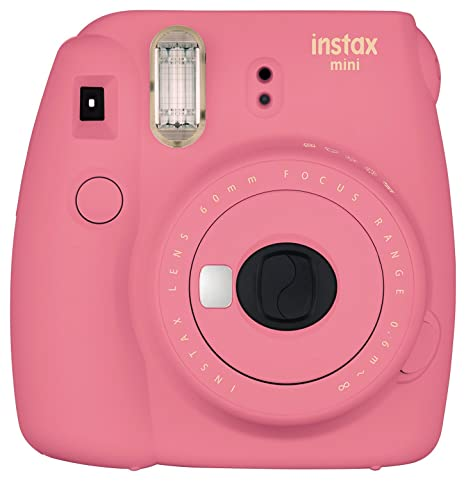 Fujifilm Instax Mini 9 Instant Camera - Flamingo Pink at amazon