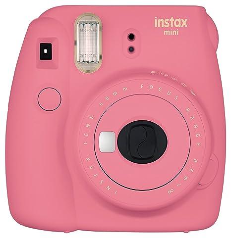 Fujifilm Instax Mini 9 Instant Camera - Flamingo Pink at amazon
