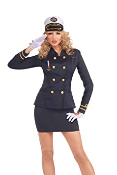 déguisement femme officier