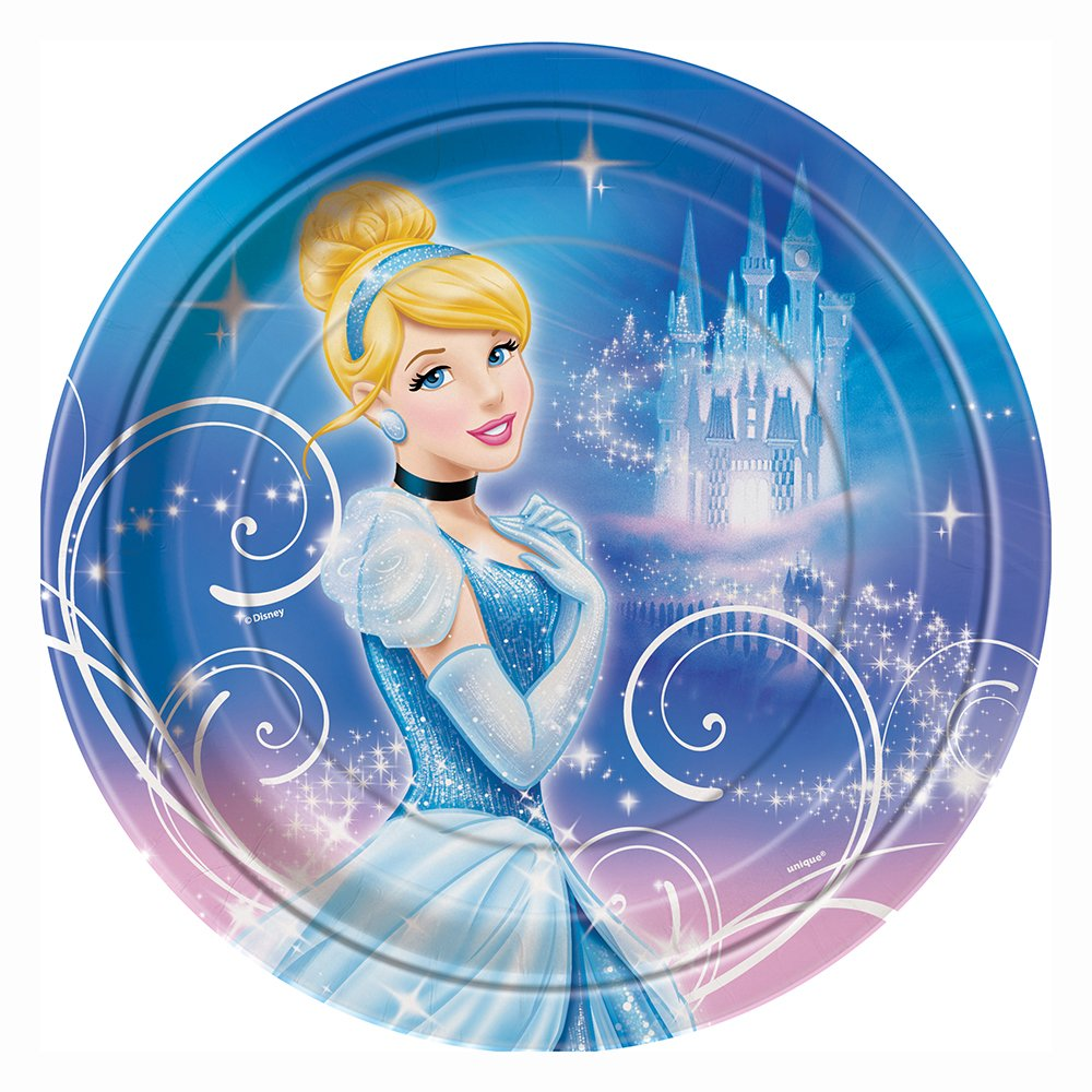 Throw an enchanted Cinderella party! Includes 8 Cinderella paper plates. Measures 9 inches across.  sc 1 st  Birthday Party Themes & Cinderella Paper Plates | Birthday Wikii