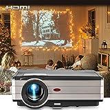 EUG Video Projectors 3500 Lumen Full HD 1080P Support TFT LCD 200