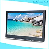 Kenowa 13.3 Inch IPS Monitor 1920X1080 Portable Monitor for PS3 PS4 Gaming Screen with Speakers and Hdmi,USB Power, for Raspberry Pi WiiU Xbox 360 Windows 7/8/10 (Color: 13.3 1920*1080)