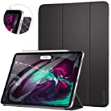 Ztotop Case for iPad Pro 11 Inch 2018,Strong Magnetic Ultra Slim Minimalist Smart Case with Auto Sleep/Wake,Trifold Stand Cover for iPad Pro 11 Inch 2018,Black (Color: A01-Black)