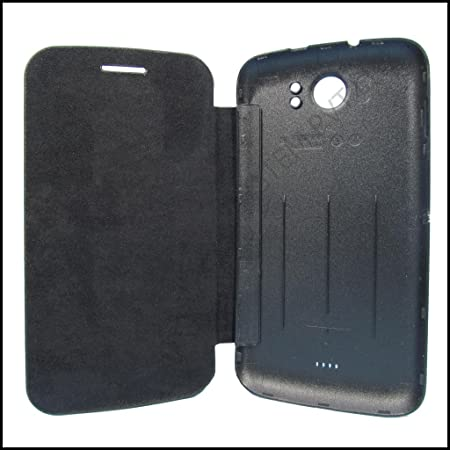TfPro Bell Premium Leather Finish Flip Case Cover for Micromax Bolt A47   Black available at Amazon for Rs.229