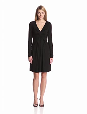 Karen Kane Women's Elizabeth Dress, Black, X-Small